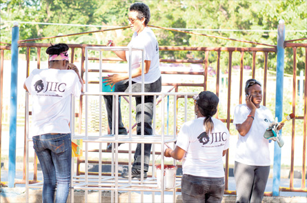 JIIC refurbishes Salvation Army School in Rae Town